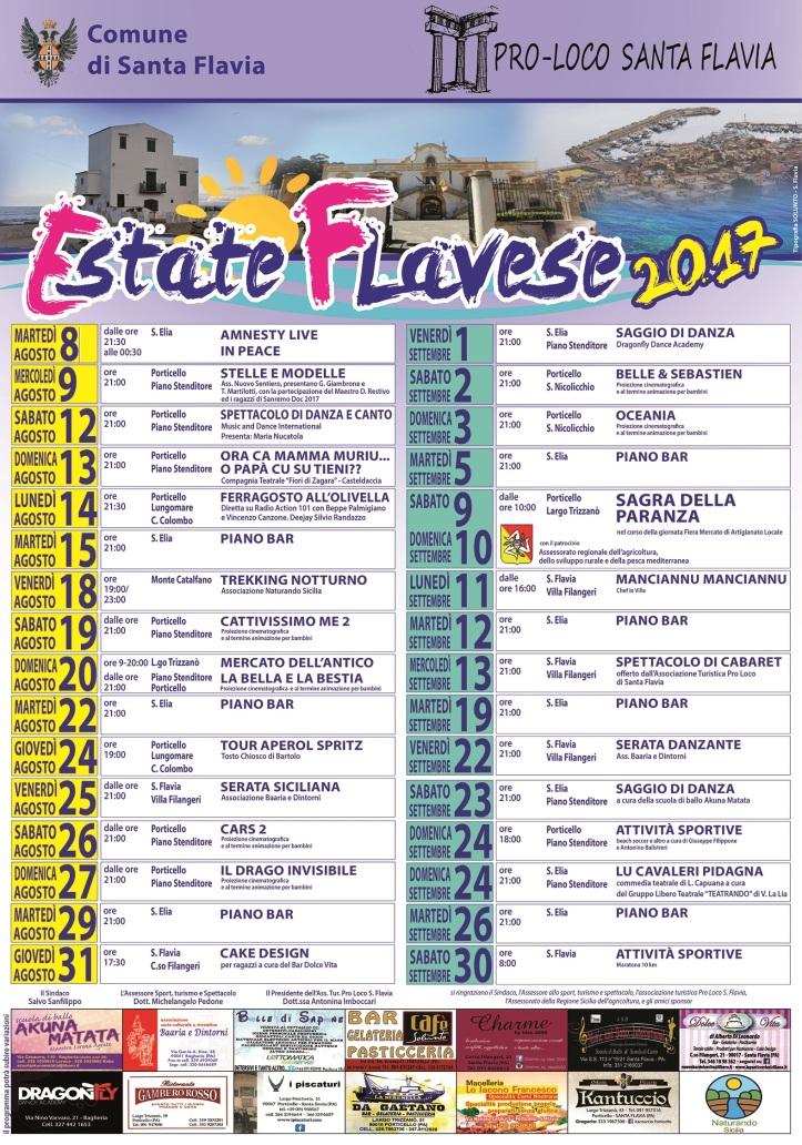 ESTATE FLAVESE 2017 LOCANDINA